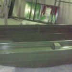 Порошковая окраска алюминиевой лодки