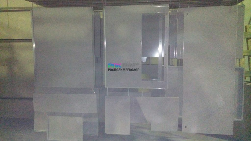 Окраска элементов вентиляционного оборудования