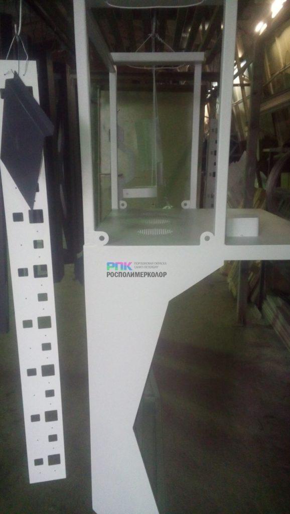 Порошковая окраска пультов для станка с ПУ