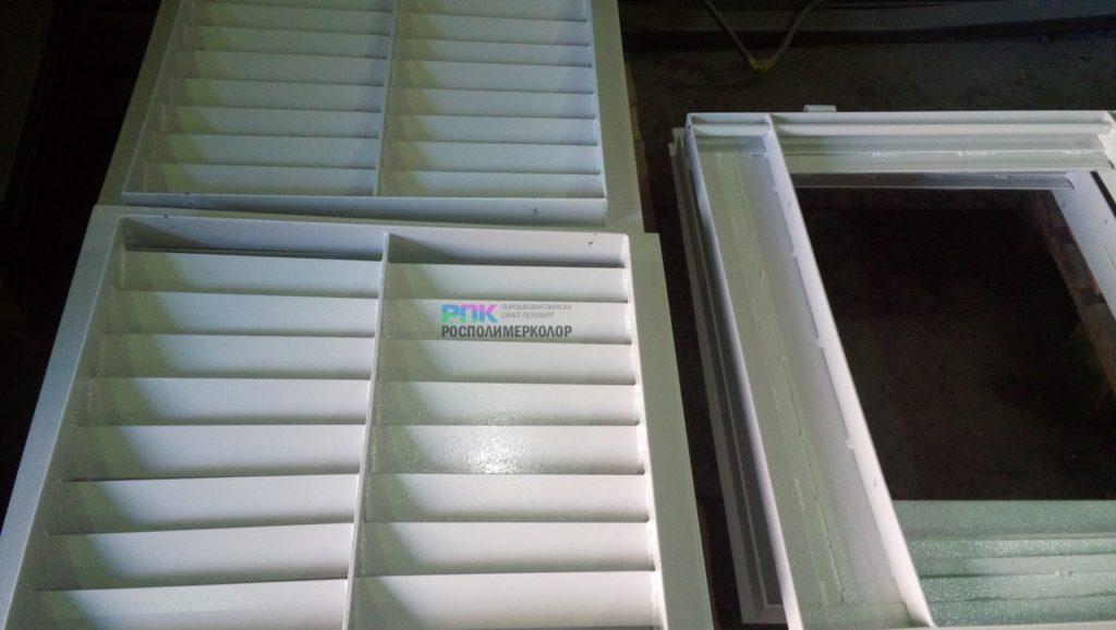 Порошковая окраска вентиляционного оборудования