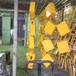 Порошковая окраска коробов электротехнических