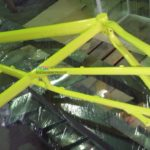 Порошковая окраска рамы велосипеда